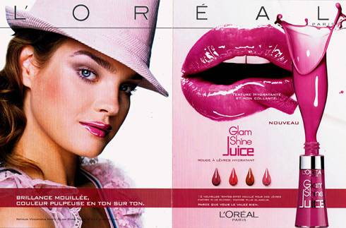 L'OREAL Glam Juice Cream - film publicitaire